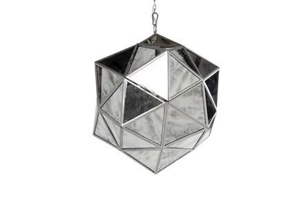 Chandelier-Antique Mirror Starburst - Main