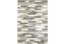 94X130 Rug-Beverly Shag Grey Tones