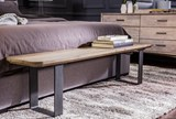 94X130 Rug-Beverly Shag Grey Tones - Room