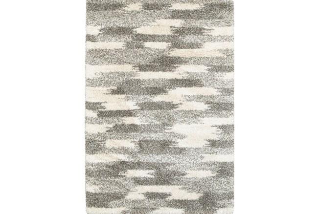 118X154 Rug-Beverly Shag Grey Tones - 360