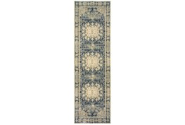 27X90 Rug-Merick Washed Denim