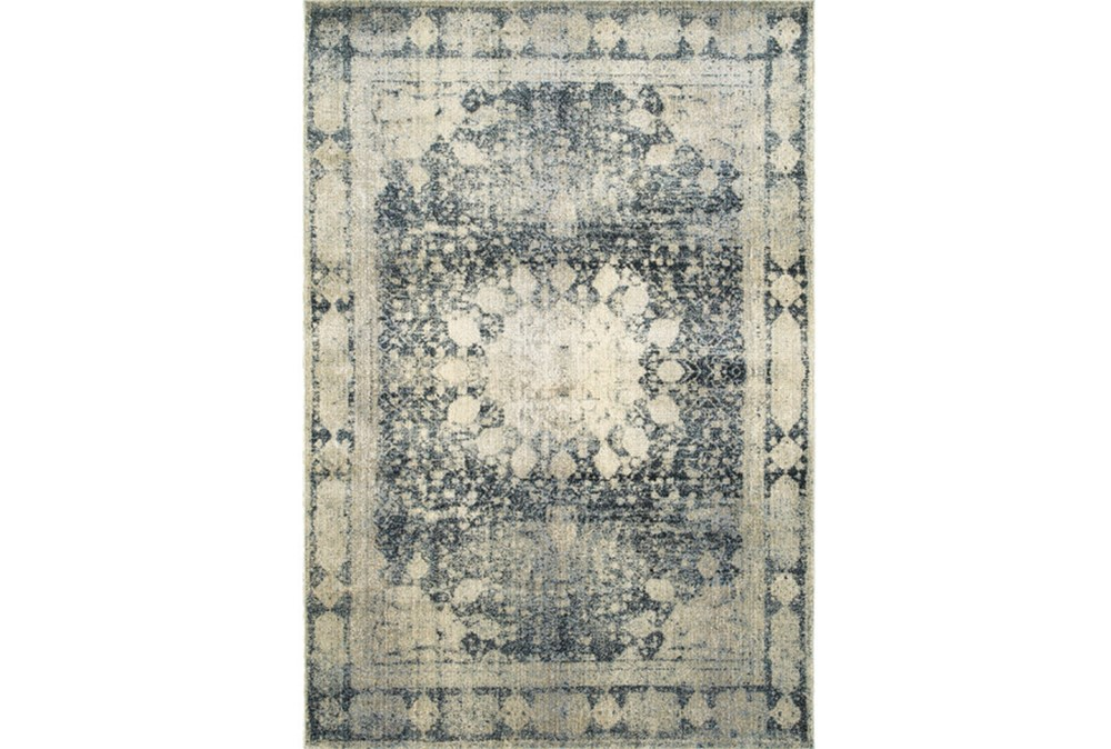 94X130 Rug-Merick Washed Denim