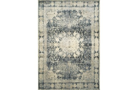 94X130 Rug-Merick Washed Denim - Main