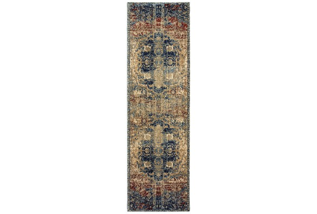 27X90 Rug-Merick Washed Spice - 360