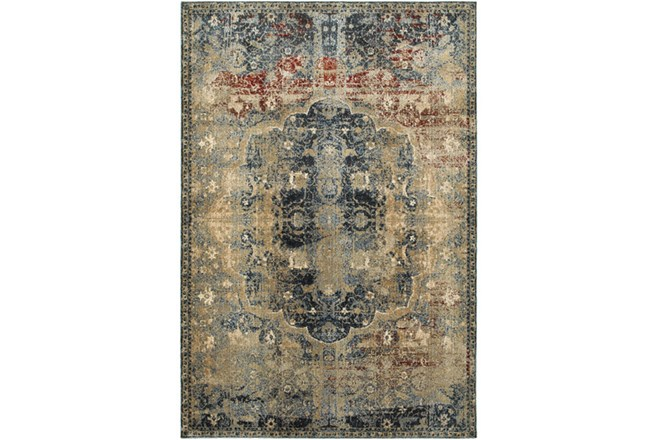 "3'8""x5'4"" Rug-Merick Washed Spice - 360"
