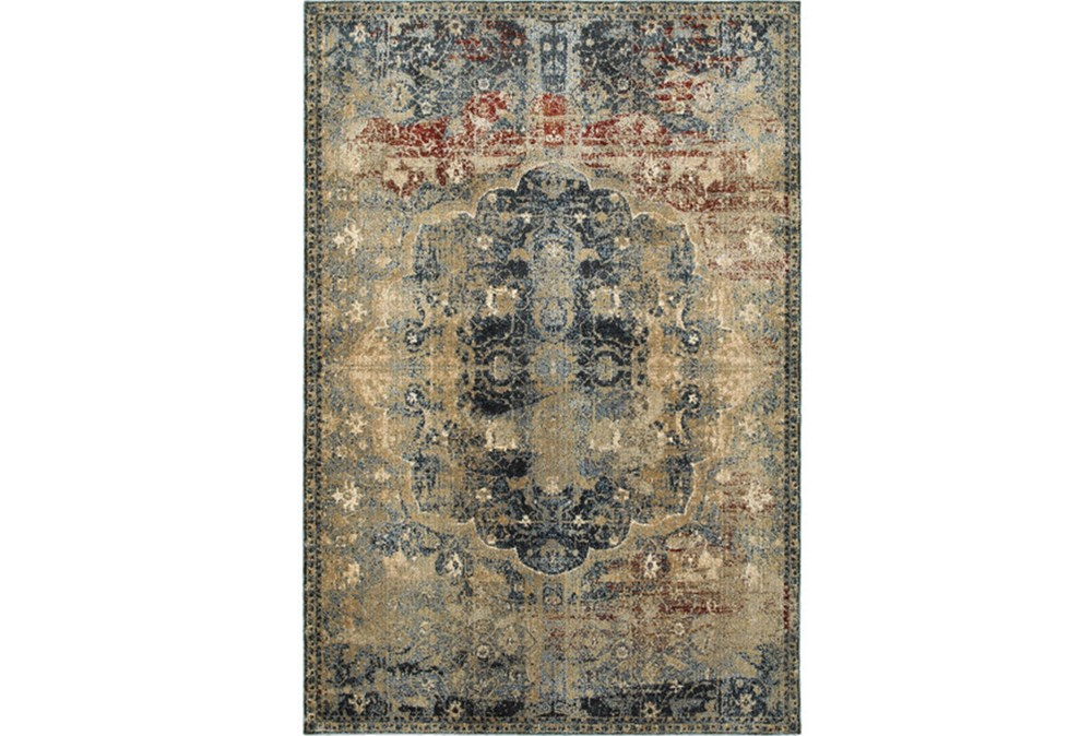 "9'8""x12'8"" Rug-Merick Washed Spice"