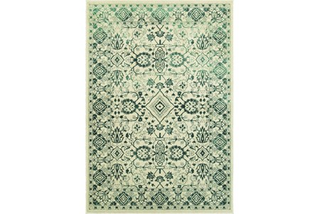 46X65 Rug-Soraya Tribal Emerald
