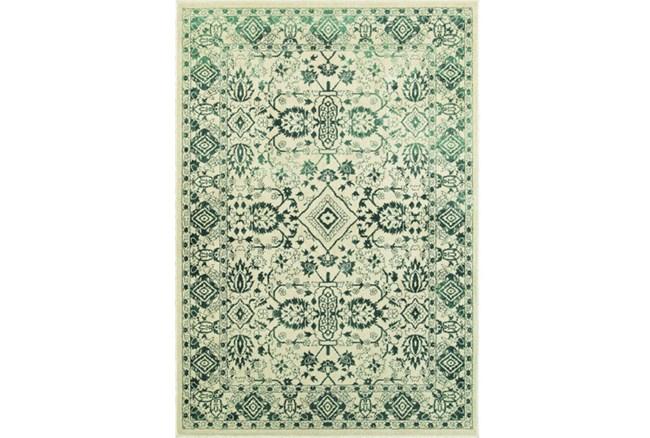 46X65 Rug-Soraya Tribal Emerald - 360