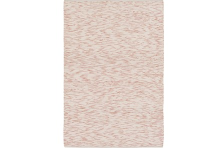 60X90 Rug-Cotton Striations Orange