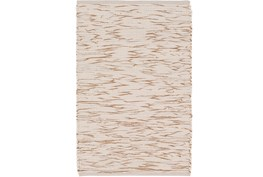 24X36 Rug-Cotton Striations Camel