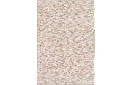 60X90 Rug-Cotton Striations Camel