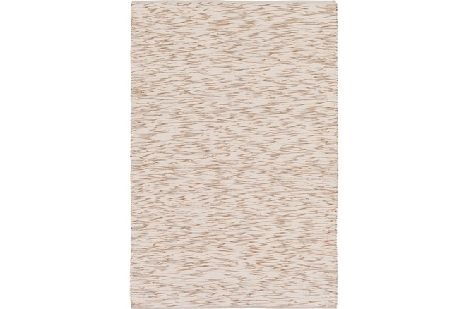 60X90 Rug-Cotton Striations Camel - 360