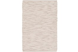 96X120 Rug-Cotton Striations Grey