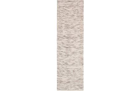 30X96 Rug-Cotton Striations Brown - Main