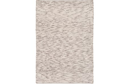 60X90 Rug-Cotton Striations Brown - Main