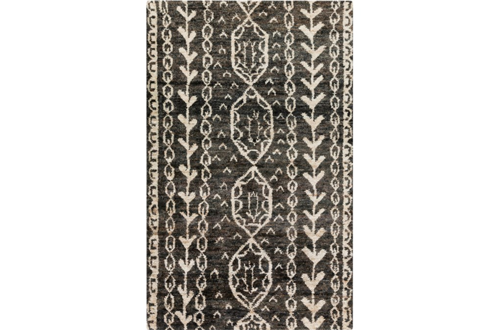 39X63 Rug-Natuk Dark Brown