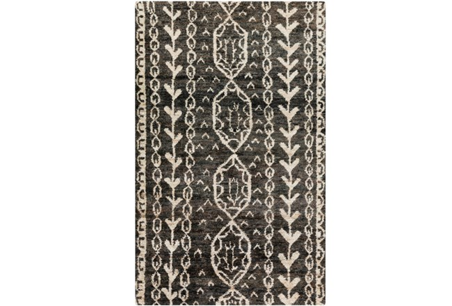 39X63 Rug-Natuk Dark Brown - 360