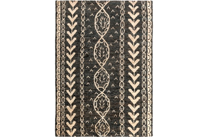 96X132 Rug-Natuk Dark Brown - 360