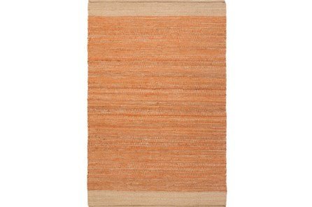 48X72 Rug-Santorini Jute Orange - Main