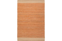 96X120 Rug-Santorini Jute Orange
