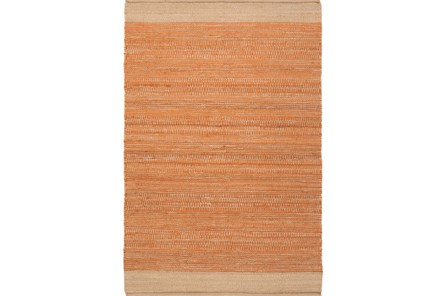96X120 Rug-Santorini Jute Orange - Main