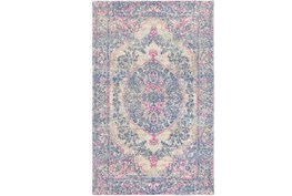 96X120 Rug-Ceire Pink And Blue