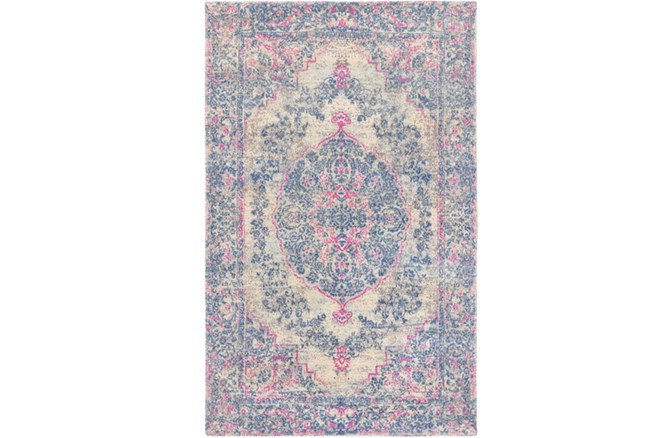 96X120 Rug-Ceire Pink And Blue - 360