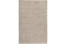 60X90 Rug-Felted Wool Stripe Grey