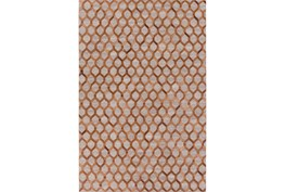 24X36 Rug-Viscose/Hide Honeycomb Brown