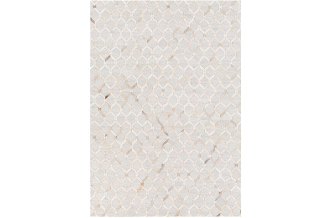 24X36 Rug-Viscose/Hide Honeycomb Camel - 360