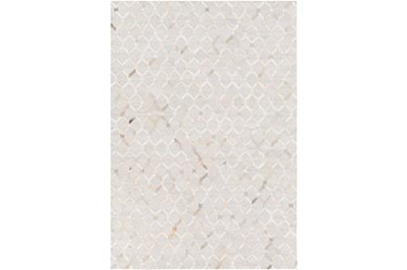 96X120 Rug-Viscose/Hide Honeycomb Camel