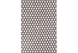 60X90 Rug-Viscose/Hide Honeycomb Black - Signature