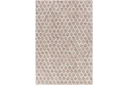 8'x10' Rug-Viscose/Hide Honeycomb Taupe