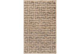 60X96 Rug-Greek Fret Grey
