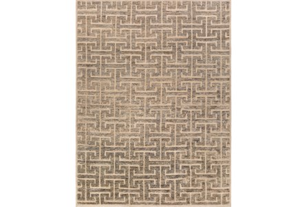 96X132 Rug-Greek Fret Grey