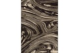 94X130 Rug-Gentry Marble Dark Brown - Signature