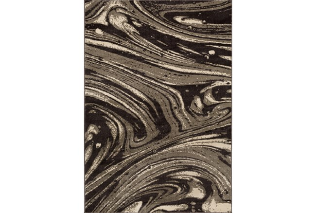 94X130 Rug-Gentry Marble Dark Brown - 360