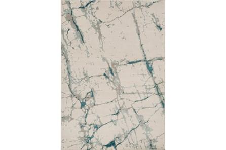 24X39 Rug-Gentry Crackle Aqua