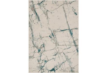 94X130 Rug-Gentry Crackle Aqua
