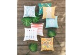 Outdoor Accent Pillow-Yellow Pineapple 18X18 - Room