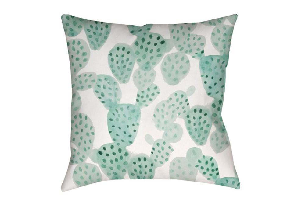 Outdoor Accent Pillow-Cactus 18X18