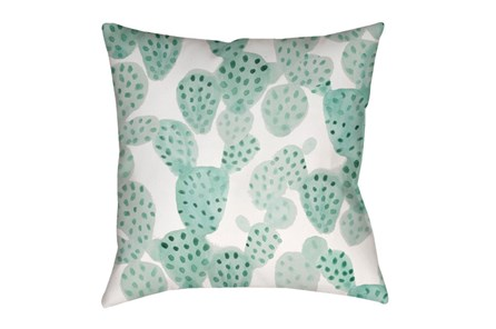 Outdoor Accent Pillow-Cactus 18X18 - Main
