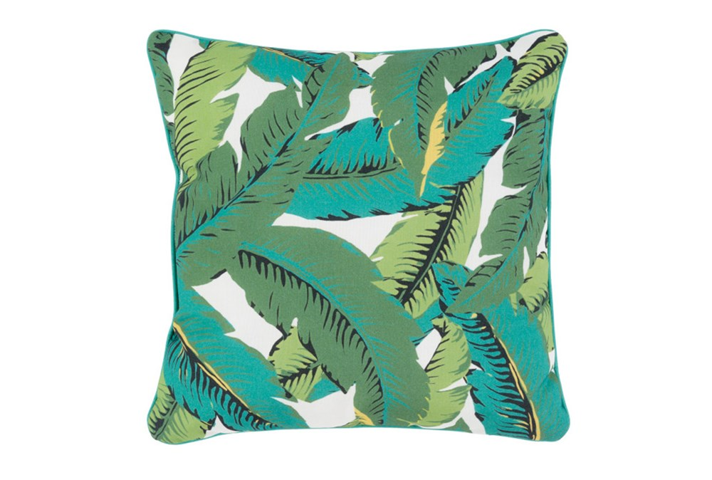 Outdoor Accent Pillow-Banana Leaf 16X16