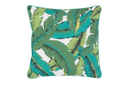 Outdoor Accent Pillow-Banana Leaf 16X16 - Main