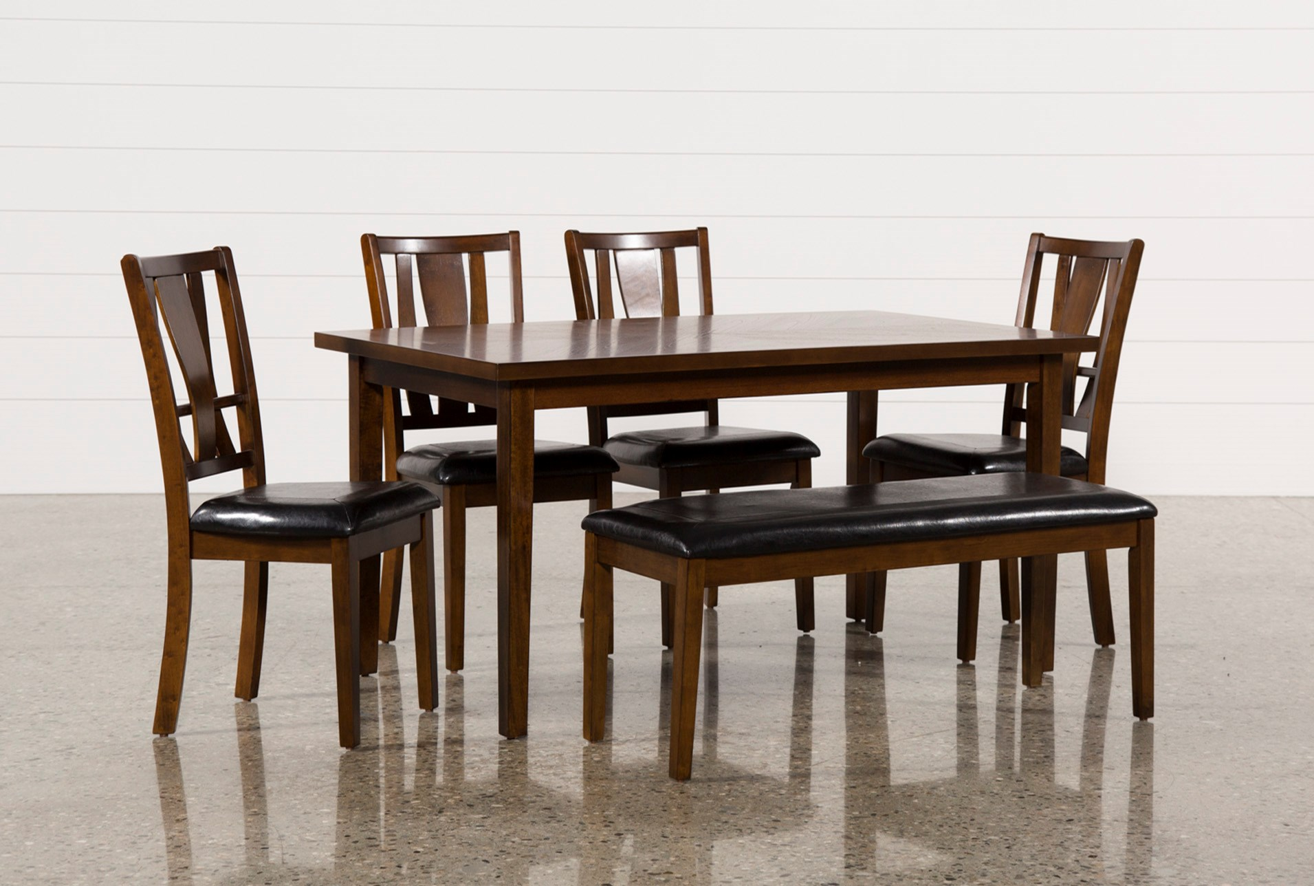 kitchen table bench k s dining tepperman piece sets set w nathan