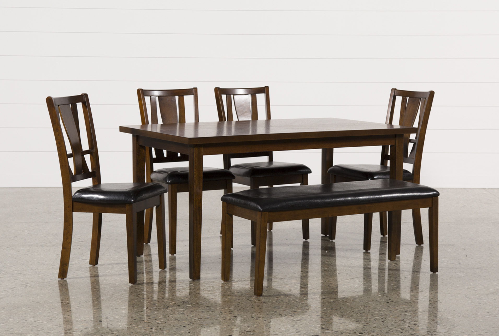 Large view & Madden 6 Piece Dining Set | Living Spaces