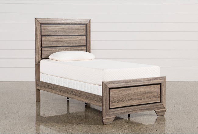 Kit-Farrell Twin Panel Bed - 360