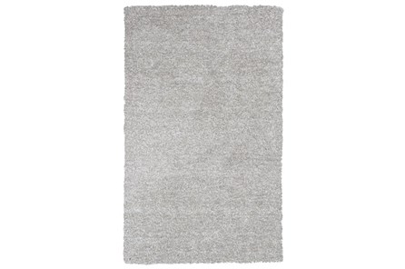 108X156 Rug-Elation Shag Heather Grey - Main