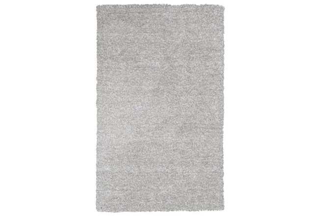 108X156 Rug-Elation Shag Heather Grey - 360