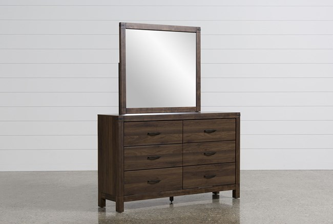 Willow Creek II Dresser/Mirror - 360